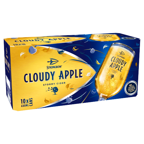 Strongbow Cloudy 4% 10pk