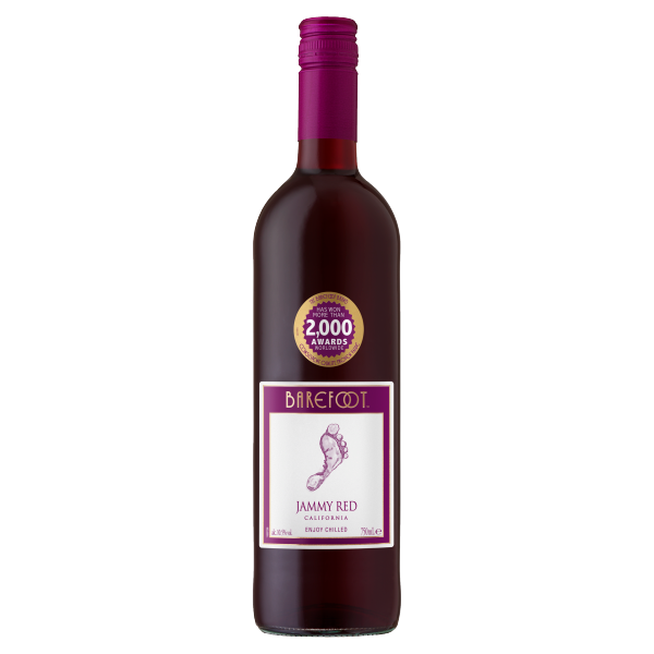 Barefoot Jammy Red 75cl